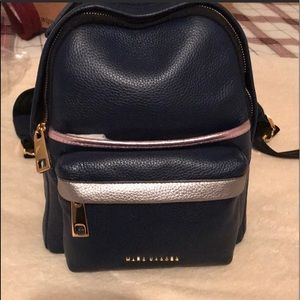 Marc Jacobs navy backpack